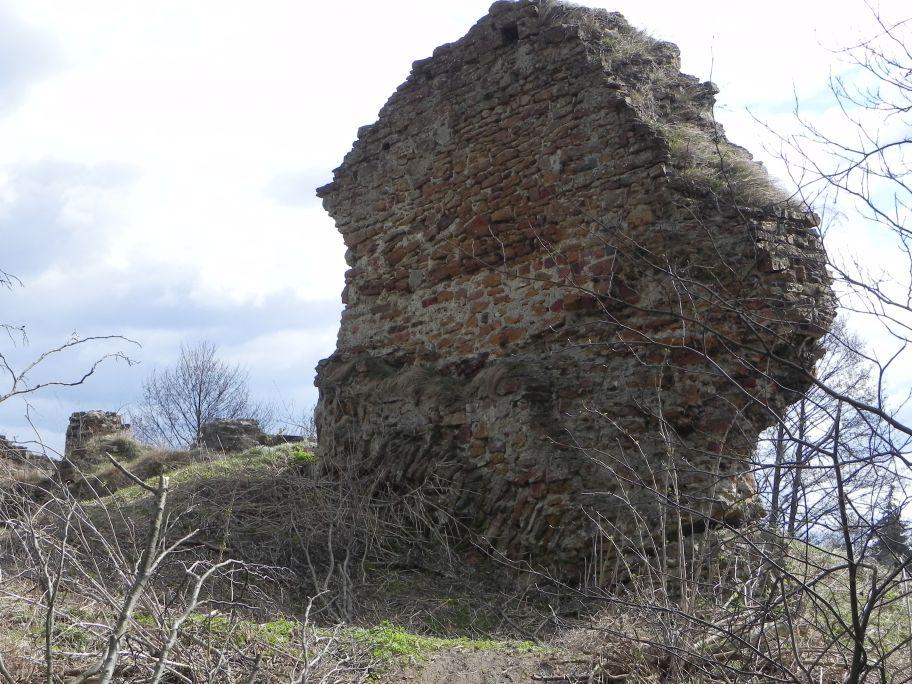 2011-04-10 Inowłódz - ruiny zamku (1)