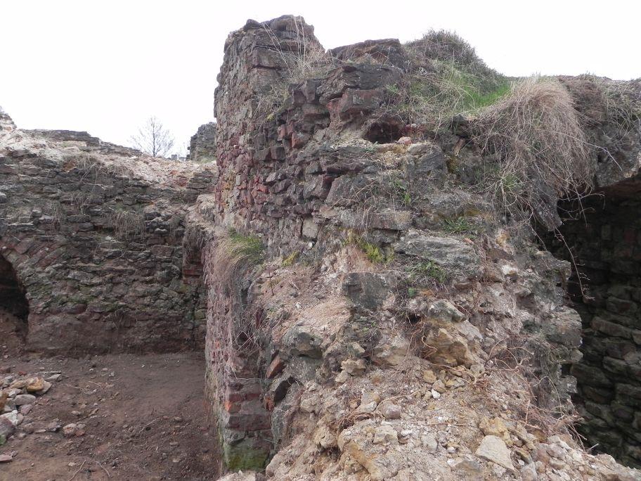 2011-04-17 Inowłódz - ruiny zamku (10)
