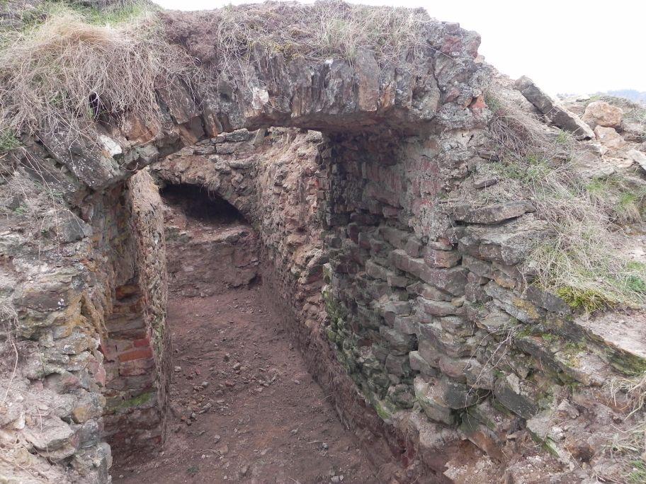 2011-04-17 Inowłódz - ruiny zamku (11)