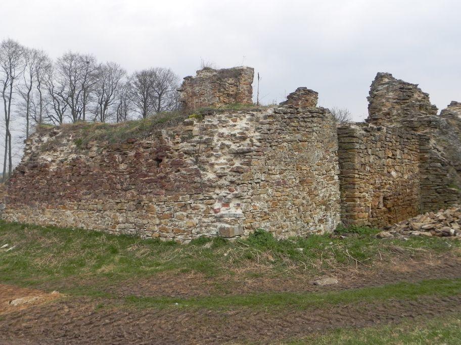 2011-04-17 Inowłódz - ruiny zamku (22)