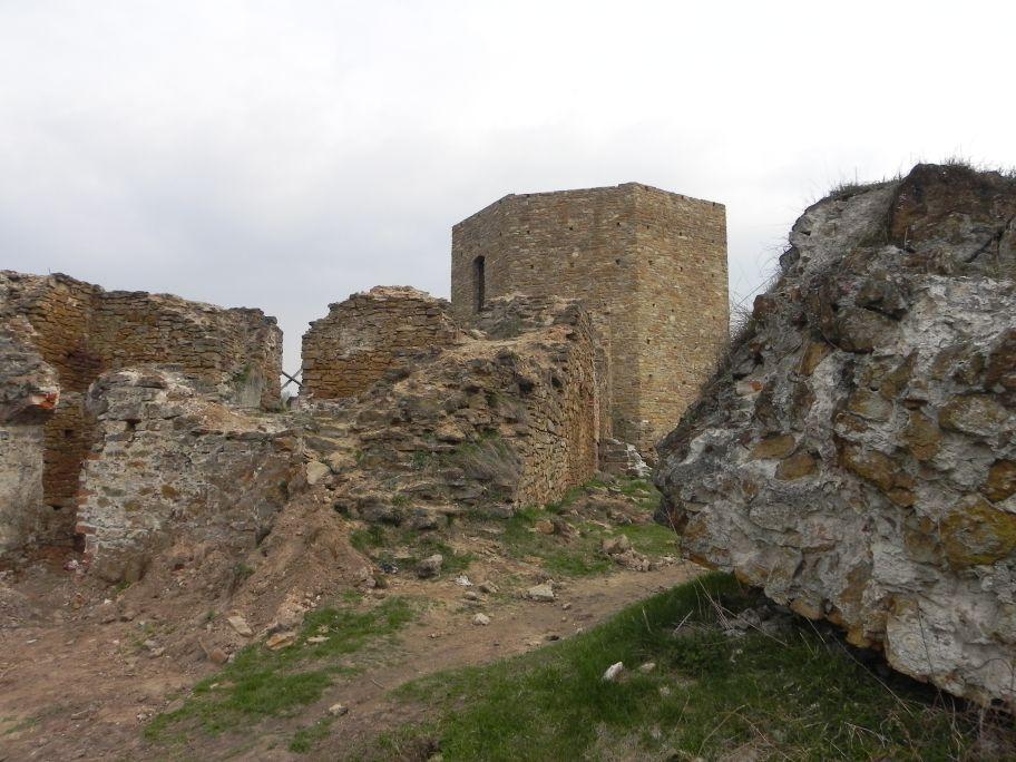 2011-04-17 Inowłódz - ruiny zamku (26)