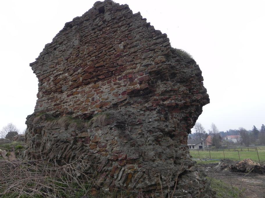 2011-04-17 Inowłódz - ruiny zamku (3)