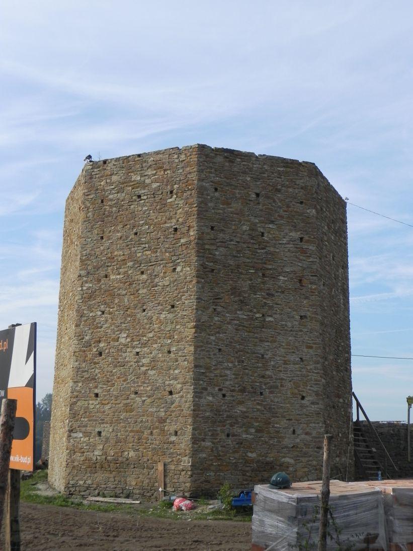 2011-09-11 Inowłódz - ruiny zamku (2)