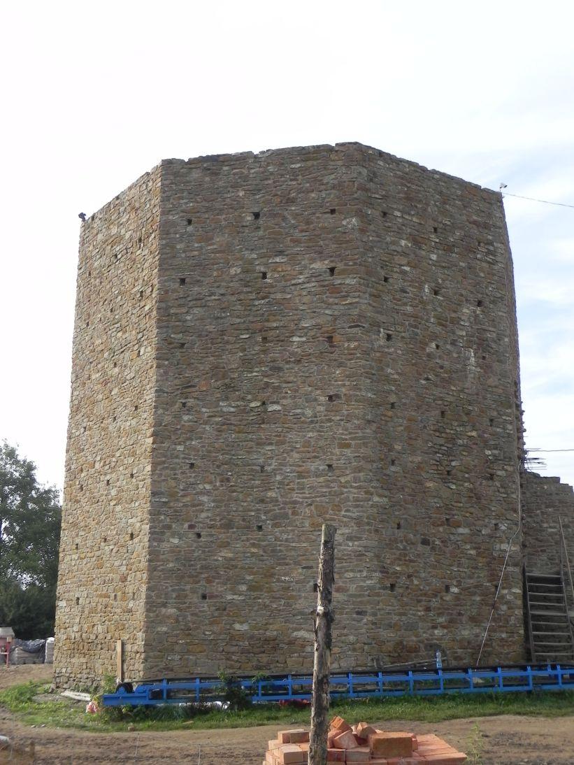 2011-09-11 Inowłódz - ruiny zamku (4)