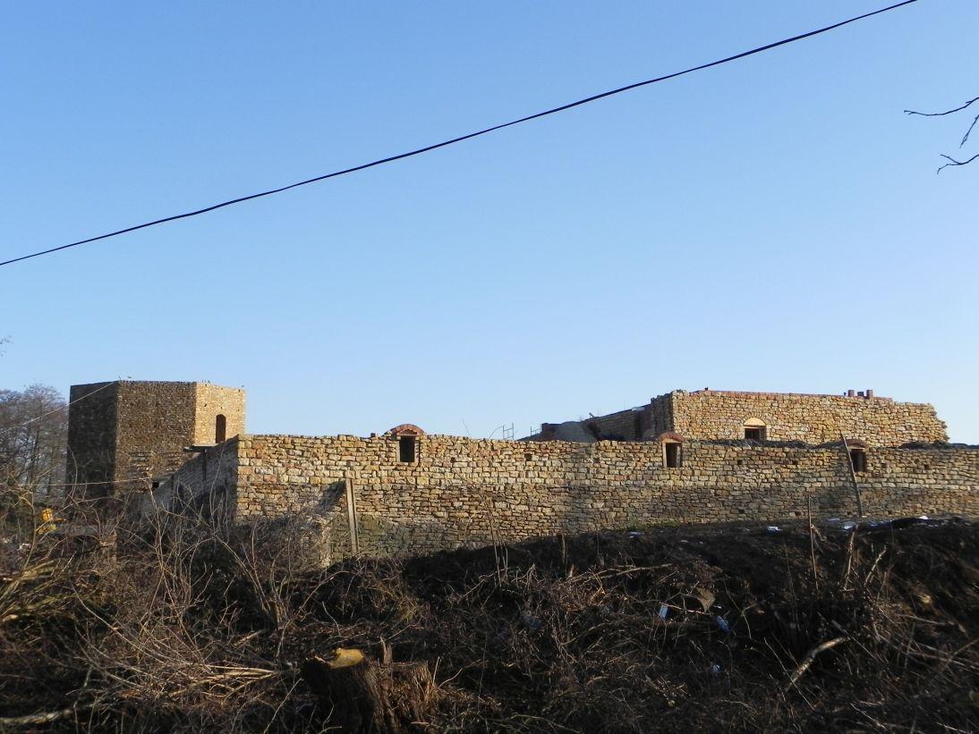 2011-12-11 Inowłódz - ruiny zamku (2)
