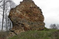 2011-04-17 Inowłódz - ruiny zamku (1)