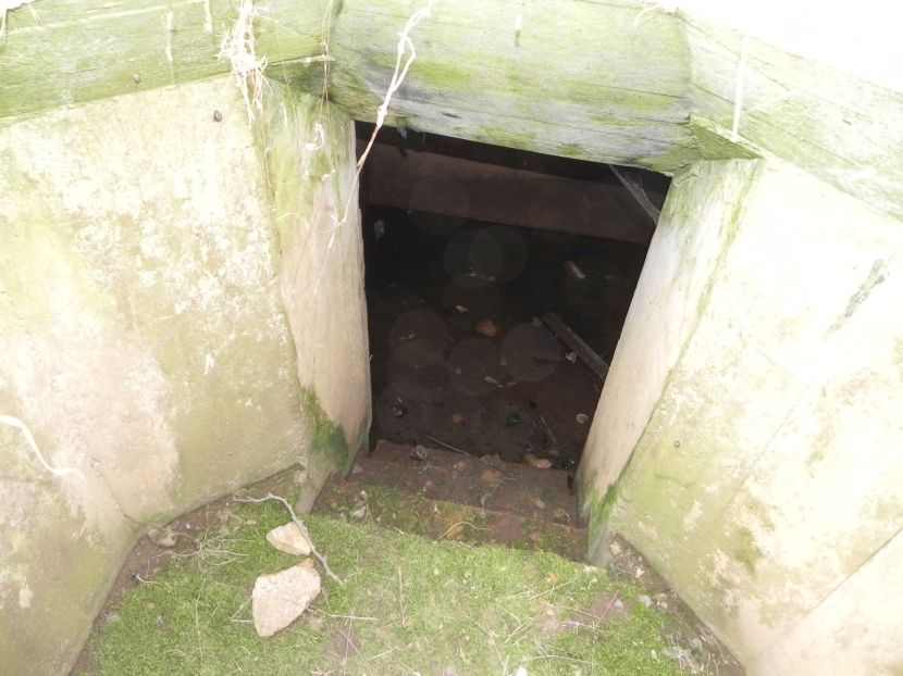 Inowłódz Koś - bunkier Tobruk-1 (18)