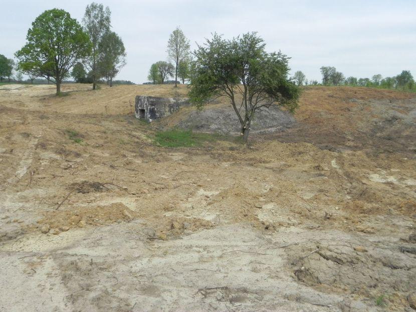 Inowłódz - zmiany na wzgórzu wokół kościoła (45)