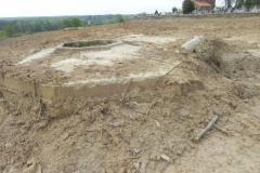 Inowłódz - zmiany na wzgórzu wokół kościoła (10)