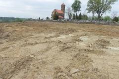 Inowłódz - zmiany na wzgórzu wokół kościoła (18)