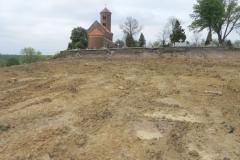 Inowłódz - zmiany na wzgórzu wokół kościoła (35)