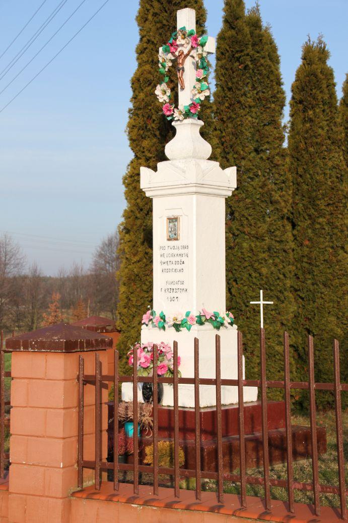 2020-02-09 Kruszewiec kapliczka nr2 (3)