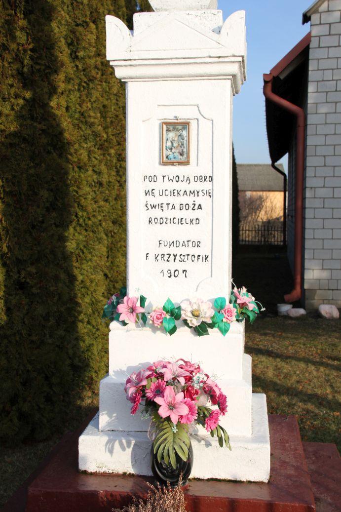 2020-02-09 Kruszewiec kapliczka nr2 (6)