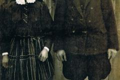 1946r Sanogoszcz - Helena i Paweł Stolarkowie