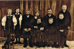 1946r Sanogoszcz - Rodzina Stolarków
