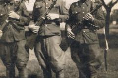 1950r Stanisław Stolarek w wojsku (3)