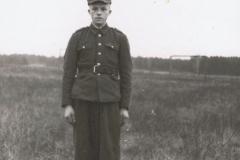 1950r Stanisław Stolarek w wojsku (4)