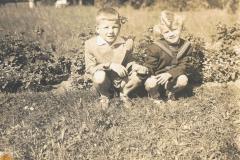 1957r Rawa Maz. - Krzysztof i Andrzej Kosiaccy