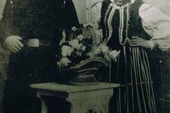 1919r. Sierzchowy - Zofia i Wawrzyniec Jędrasowie