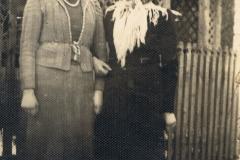 1940r. Sierzchowy - Władysława Kowalczyk i Janina Kowalczyk - Kieszek