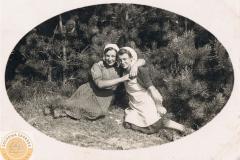 Julia Jędras i Maria Dzika