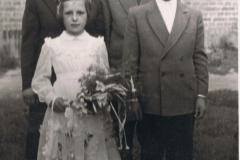 Julia, Kazimierz, Zofia i Jan Bieniasowie