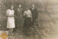 Maria Dzika, Felek, Julia i Stanisław Jędrasowie