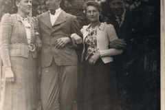 Władysłwa Kowalczyk, Kazimierz Wieteska, Janina Kowalska i Ignac Jakubczyk