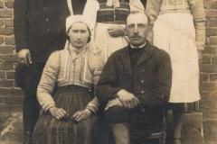 1935r. Marcin Antosik i Katarzyna Dyśko ze Złotej