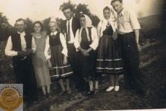 1950r. Złota - Maria Góraj i Stanisław Antosik