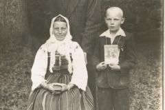 1954r. Wysokienice Kazimierz Łopatka ze Złotej