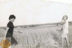 1960r. Rogowiec - Żniwiarka z sierpem
