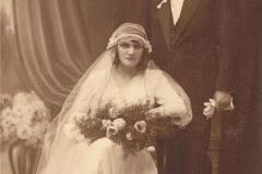 1922r. Rawa Maz. Józef Dziki i Maria