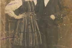 1925r Bartoszówka Antonina z Kielanów i Antoni Sowik