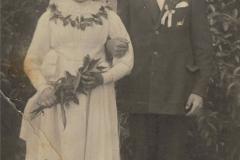 1927r. Kanice - Jadwiga Dzika i Franciszek Kowalczyk