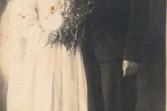 1930r. - Mroczkowice Helena z Dzikich Wieteska i Jan Wieteska