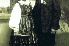 1930r. Mroczkowice - Helena z Dzikich Wieteska i Jan Wieteska1