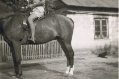 1952r. Sierzchowy - Mietek Ponewczyński