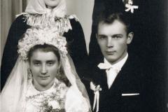 1960r. Stefania Skoneczna i Kazimierz Łopatka