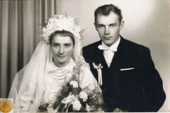 1960r. -Stefania Skoneczna i Kazimierz Łopatka