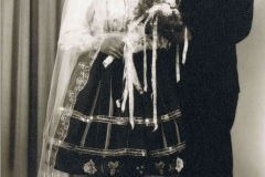 1960r. - Stefania Skoneczna i Kazimierz Łopatka