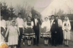 1960r. Złota - zdjącie ślubne