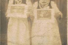 1940r. Złota - Maria Matysek i Marianna Antosik