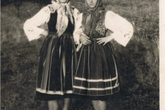 1950r. Złota - Marysia Antosik i Rozalia Łopatka
