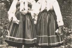 1955r. Złota - Marysia Antosik i Zofia Lach