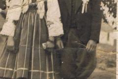 1940r. Złota - druhna i drużba