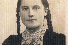 1925r.Złota - Rozalia Śliwka