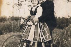 1930r. Złota - Rozalia Łopatka z domu Śliwka