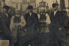 1950 Częstochowa - Pielgrzymka z okolic Opoczna