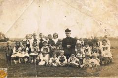 1942r. Chorzęcin - Barbara Ogórek - I komunia św